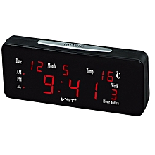VST ST-1 Loud Dual Alarm Clock Automatic Lightness With Large Letters Electronic Temperature Display