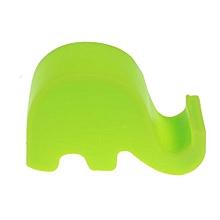 Holder Fashion Lazy Elephant Bedside Phone Holder Slot Stand For Smart Phone GN-Green