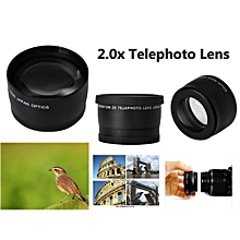 58mm 2X Telephoto Lens For cannon Nikon Sony 58mm Camera Lens