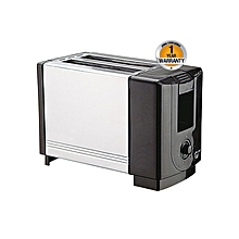 APT-2B1000(SS) - 2 Slice - Wide Pop-Up Toaster - Black & Silver