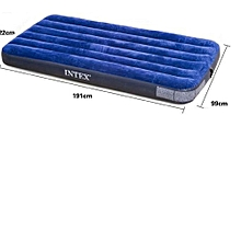 Classic Downy Air Bed Royal Blue, Twin Size - Blue