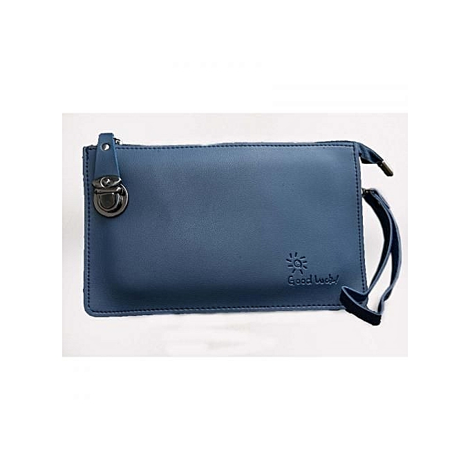 4d3da4147e Generic Navy Blue PU Leather Sling Bag   Best Price