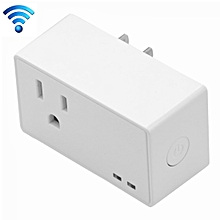 SA-004 10A EWeLink APP Remote Timing WiFi Smart Socket Works with Alexa and Google Home, US Plug