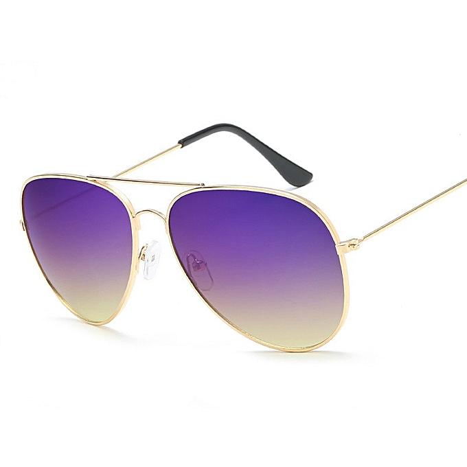 Sea Lense Gradient Women Sunglasses Trending Products Mens Sunglasses Sell  Luxury Pilot Red Sunglasses(No 7 G Purple Yellow)