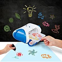 DIY 3D Magic Printer Kids Toy Gift Blue
