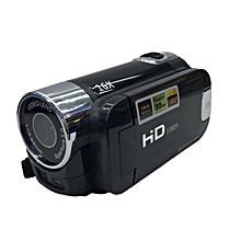 CO HD-100 Full HD 1080P Digital Video Camera 2.7 Inch TFT Display 16.0MP Mini DV-black