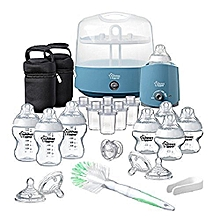 Closer To Nature Complete Feeding Set - Blue