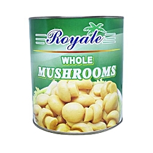 Whole Mushrooms, 2,840g