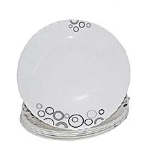 6Pcs Diva Classique Dinner Plates - Misty Drops