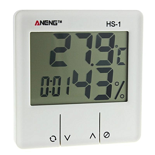 Generic ANENG HS-1 Digital LCD Weather Station Thermometer Hygrometer  Electronic Temperature Humidity Meter   Best Price  1c8075a2920dd