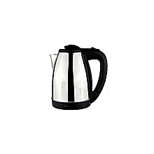 High Quality  Kettle (Electric) -2.0L - Cordless - Silver & Black