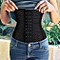 Women Corset Waist Training Shaper Body Shapewear( Black )