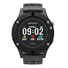 """F5 - 0.95"""" Smart Watch For Android/IOS 350mAh Pedometer - Red"""
