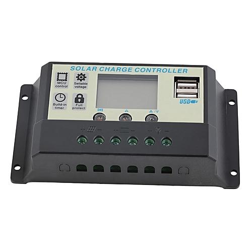 allwin 10a 12v 24v solar panels battery charge controller. Black Bedroom Furniture Sets. Home Design Ideas