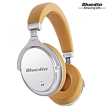 LEBAIQI Bluedio F2 Active Noise Cancelling Wireless Bluetooth Headphones Headset With Mic