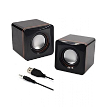 Multimedia Speakers - 2.0 USB - Black