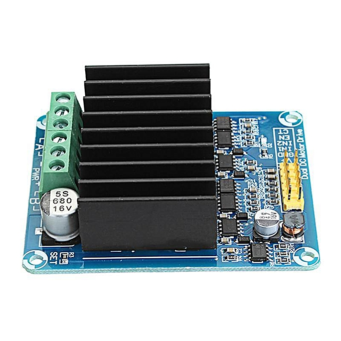 DC 5-12V 30A PWM Dual Channel Motor Control Module H Bridge Motor Drive  Controller Board DHB-1A Reversible Control And PWM Speed Control For  Ordinary