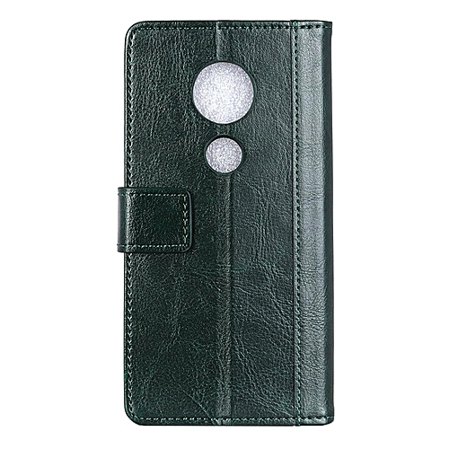 reputable site b9d6c 91388 Moto E5 Plus Case,Brass Buckle PU Leather Magnetic Enhanced Flip Cover with  Card Slots and Folding Stand for Motorola Moto E5 Plus