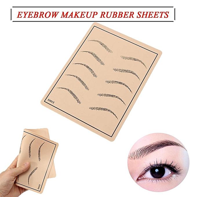 Buy Generic Cosmetic Makeup Eyebrow Brow Pattern Practice Skin Easy