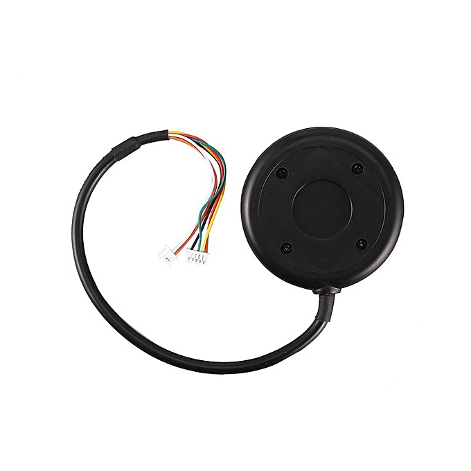 6M Gps W/Box Compass Module For Pix Pixhawk Px4 Autopilot Controller Part  Black