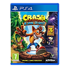 PS4 Game Crash Bandicoot N. Sane Trilogy