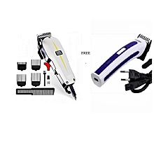 Super Taper Hair Clipper Classic Series/Shaving Machine with a free rechargeable trimmer
