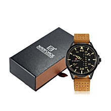 Chic Fashion Man Watch 3ATM Water Resistant High Quality Analog Quartz Wristwatch with Date Week Display