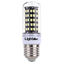 Lightme E27 AC 85 - 265V 5W 400LM SMD 2835 LED Corn Bulb Light Energy Saving Lamp with 82 LEDs COOL WHITE LIGHT E27