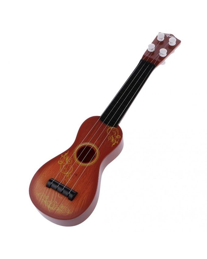 Plastic Toy Musical Instruments : Magideal kids baby mini plastic guitar toys musical