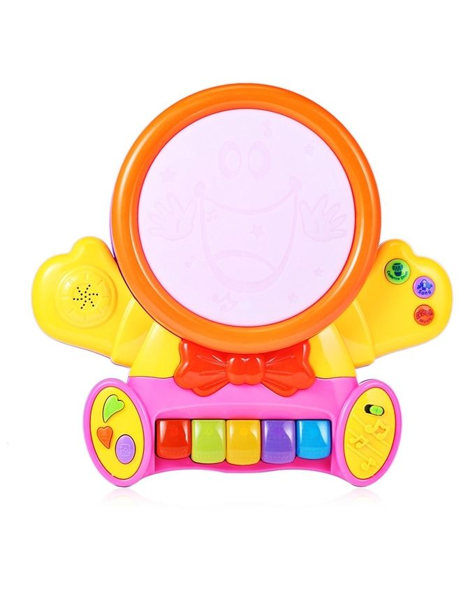 Smile Educational Toys : Generic kids preschool colorful musical smile face play