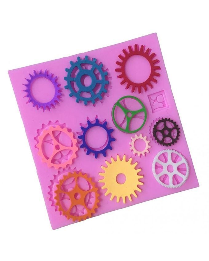 Cake Decorating Steam Fondant : Magideal Steam Punk 11 Tools Silicone Fondant Mould Cake ...