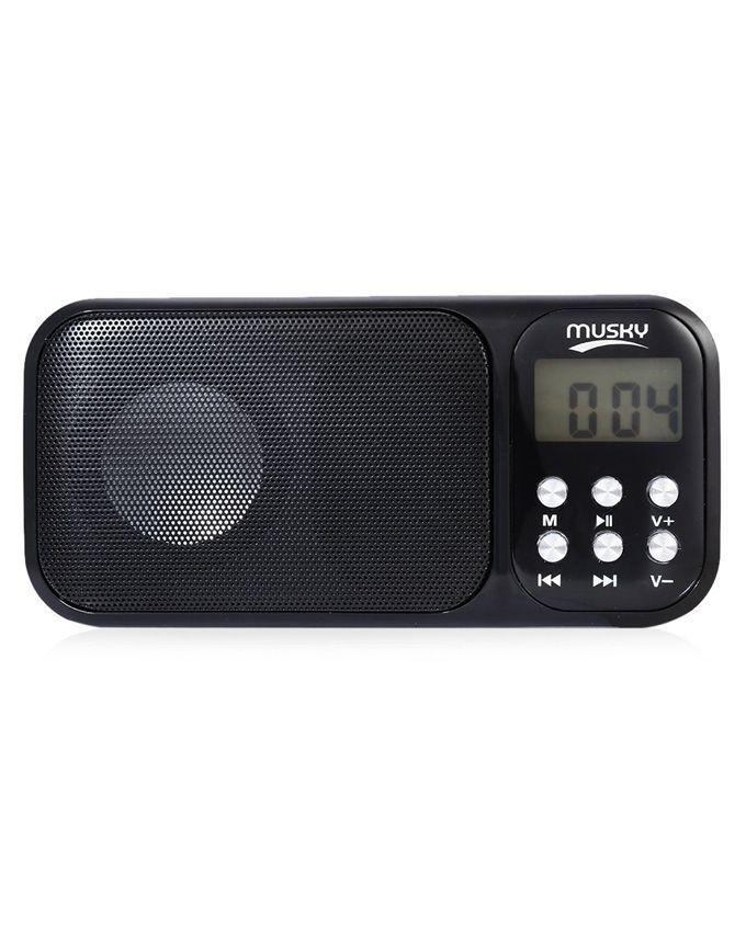 Led Shop Lights Causing Radio Interference: Mini Portable FM Radio Speaker MP3 Player