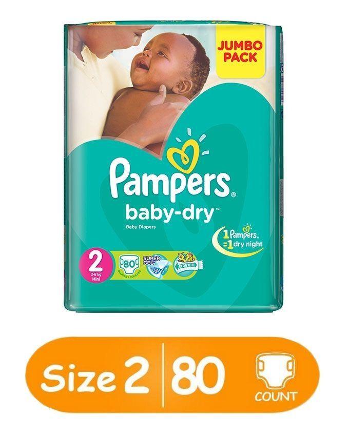 pampers baby dry 2 jumbo
