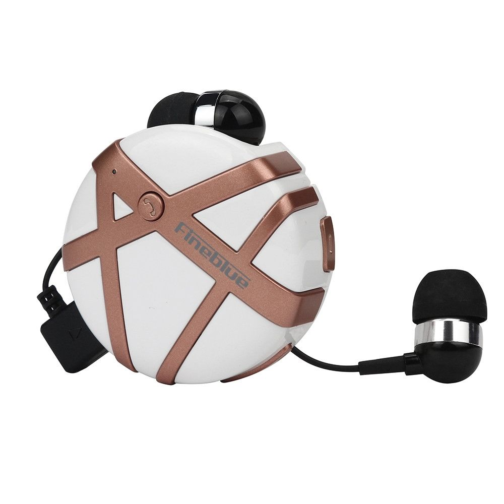 neworldline bluetooth 4 1 shrinkage in ear wireless sport earbuds headset stereo earphone rose. Black Bedroom Furniture Sets. Home Design Ideas