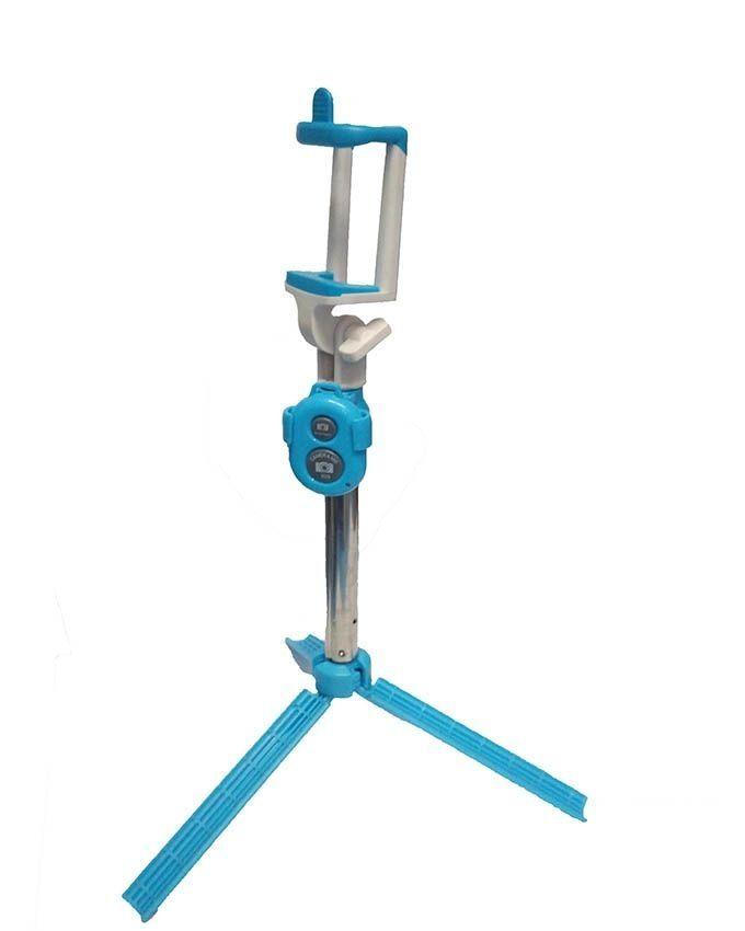 selfie booth bluetooth selfie stick with tripod stand blue buy online jumia kenya. Black Bedroom Furniture Sets. Home Design Ideas