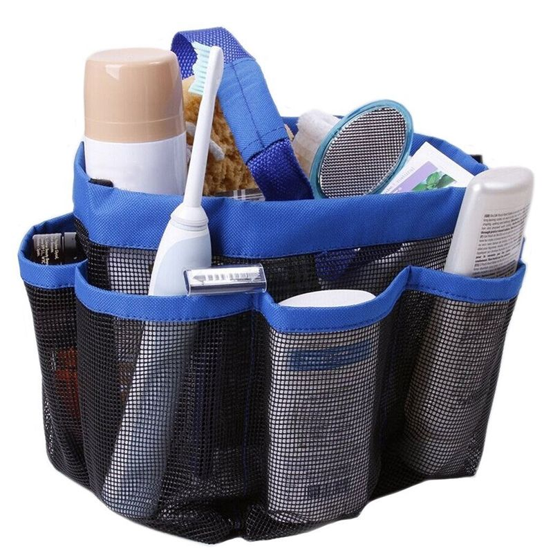 liplasting shower mesh bathroom accessories storage holder bag bath quick dry dorm travel buy online jumia kenya