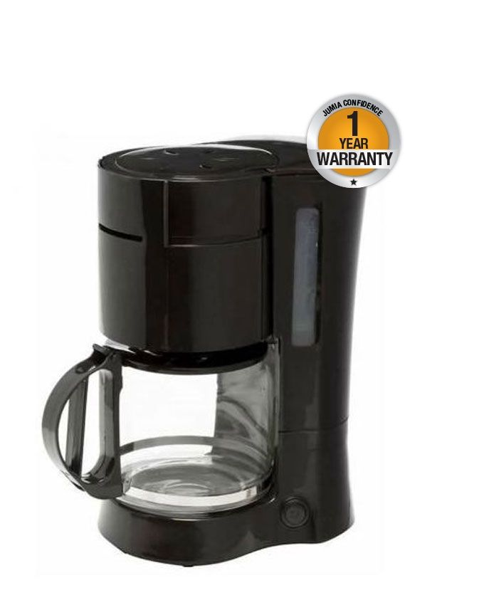 Best Budget Coffee Maker - 1.2L Anti Drip - Black Buy online Jumia Kenya