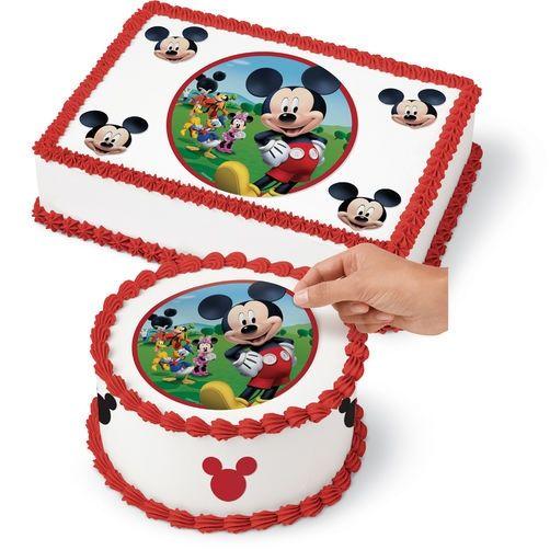 Wilton MickeyMouse Edible Images Cake Decorating Kit - 4 ...