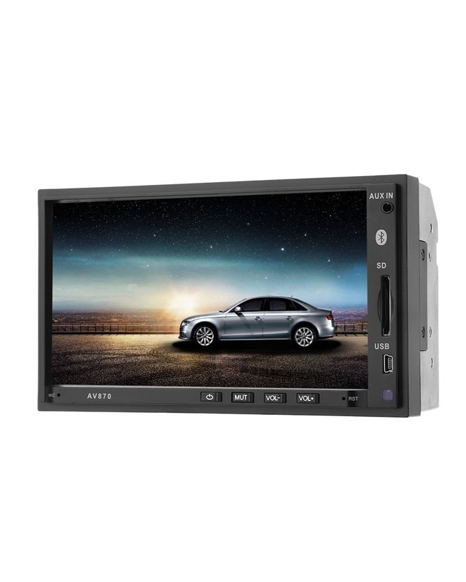 generic av870b 12v car dvd radio rds mp5 player 7 inch. Black Bedroom Furniture Sets. Home Design Ideas