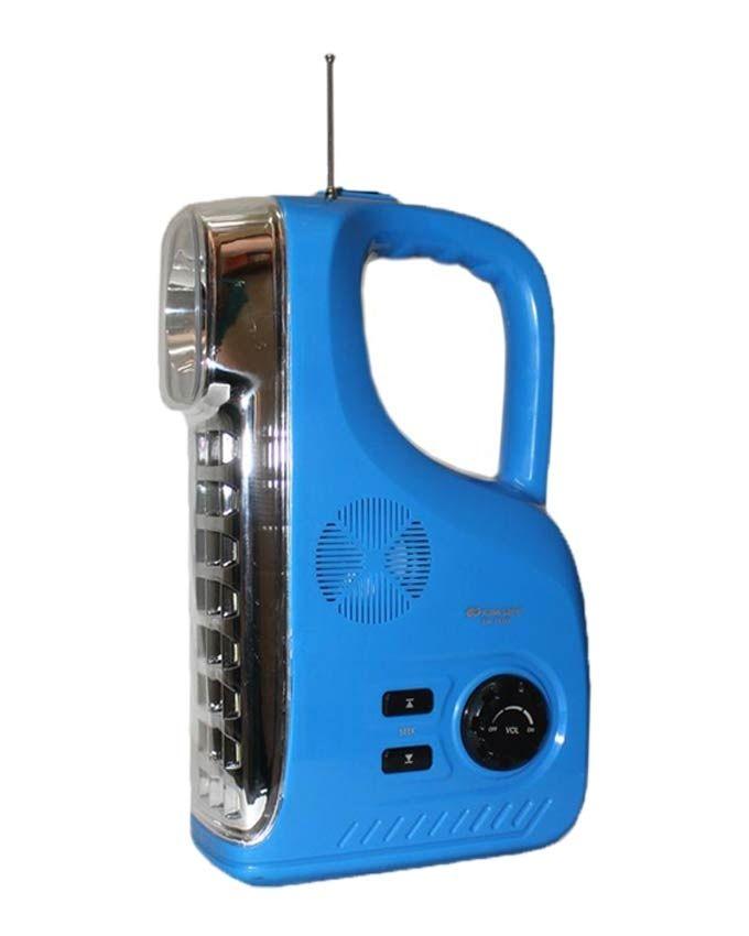Led Shop Lights Causing Radio Interference: Kamisafe Rechargeable LED Radio Lamp - Blue