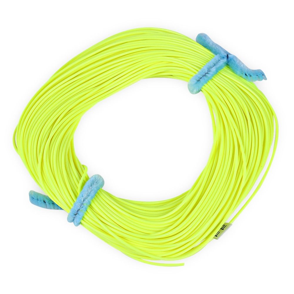 Generic fl001 30 5m weight forward floating fly fishing for Fluorescent fishing line