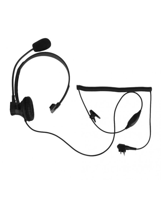 Magideal Hands-free Headset W/ VOX/PTT Boom Microphone 2
