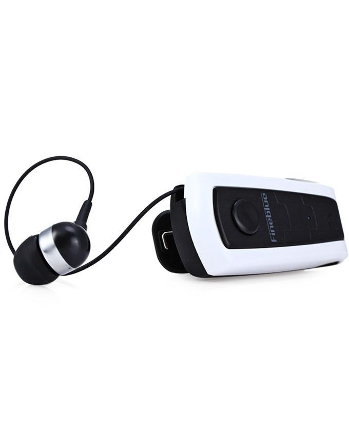 fineblue f910 bluetooth v4 0 headset earphone vibrating alert white black buy online. Black Bedroom Furniture Sets. Home Design Ideas