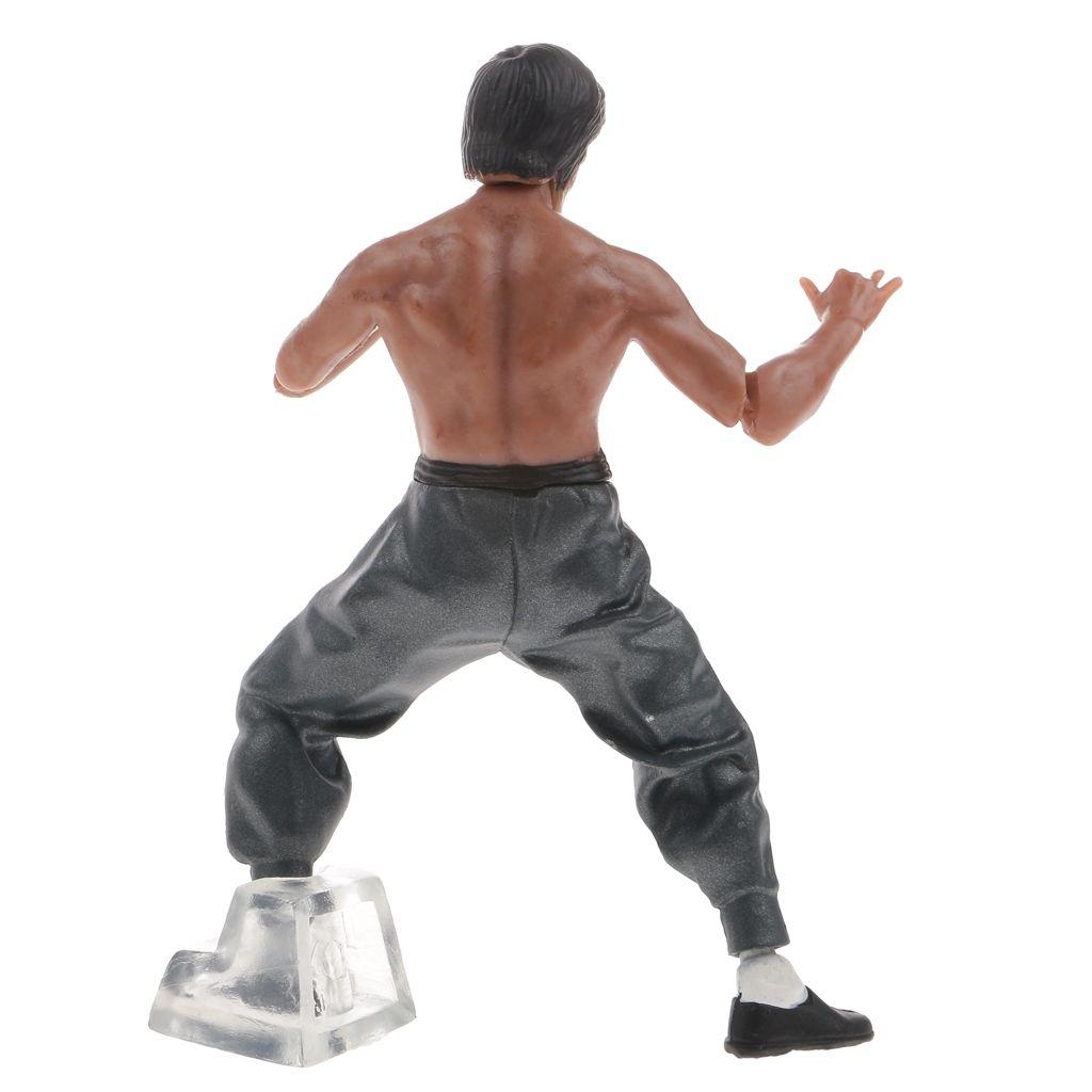 magideal 4pcs kung fu master bruce lee legend 4 39 39 model action figure collectibles buy online. Black Bedroom Furniture Sets. Home Design Ideas
