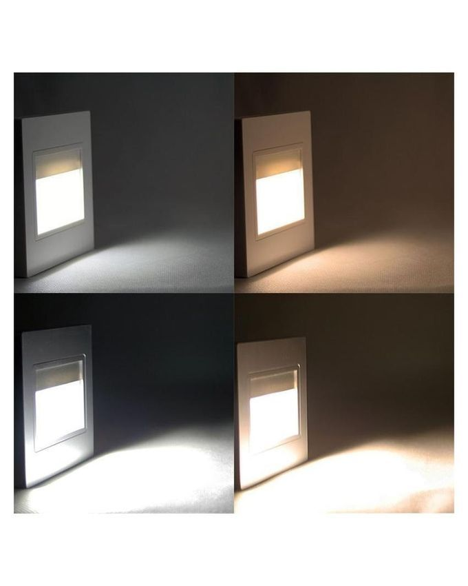 Vega Wall Lamp Black Led 5w : Magideal Outdoor 1.5W Black LED Wall Recessed Light Pathway Step Deck Lamp-Warm White Buy ...