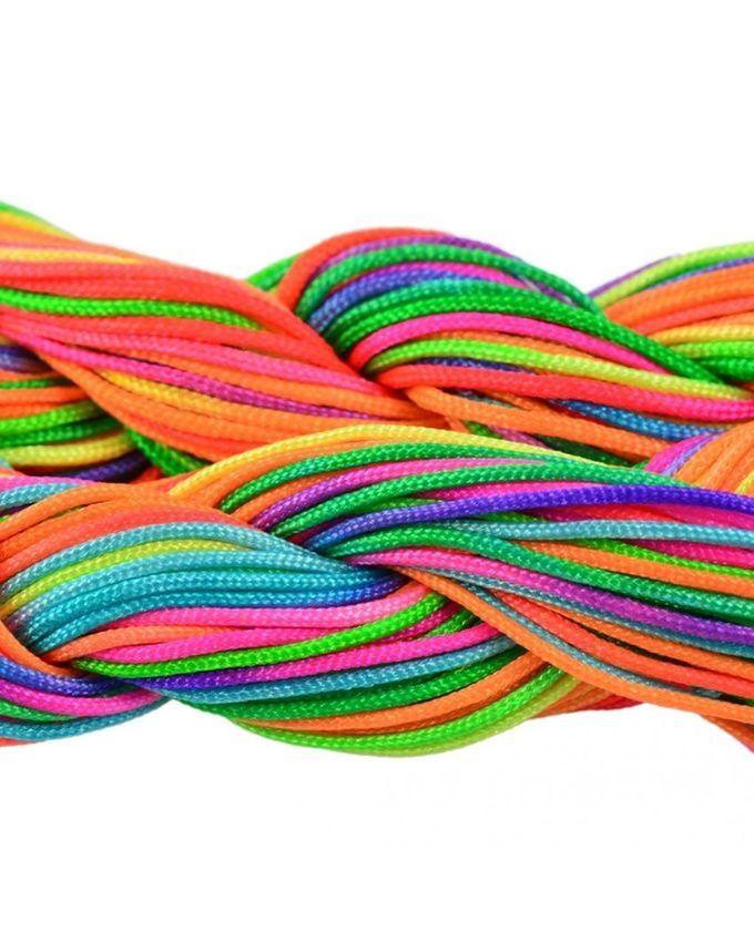 Magideal 30 Meters 1mm Kumihimo Nylon Braided Cord Thread ...