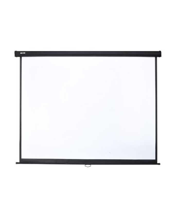 VisualApex Manual Pull Down Wall Mounted Projector Screen