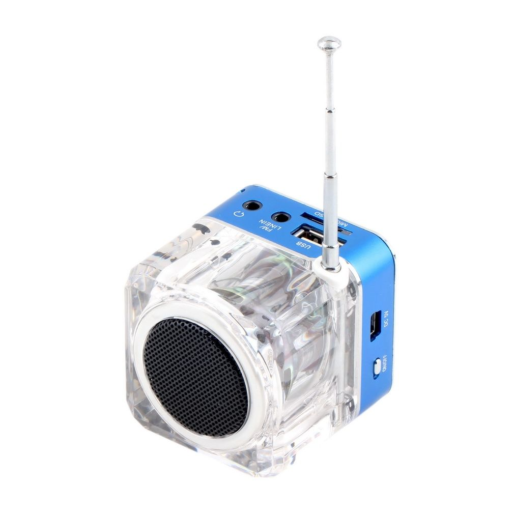 Allwin Mini Speaker LCD HiFi Music MP3 4 Player TF Card