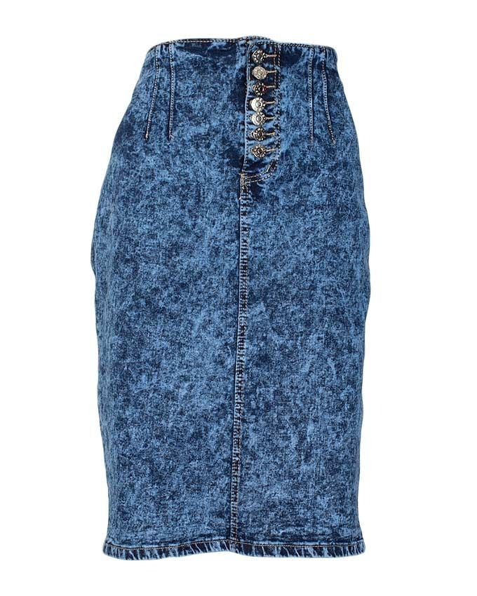 prime choice collection blue denim skirt buy