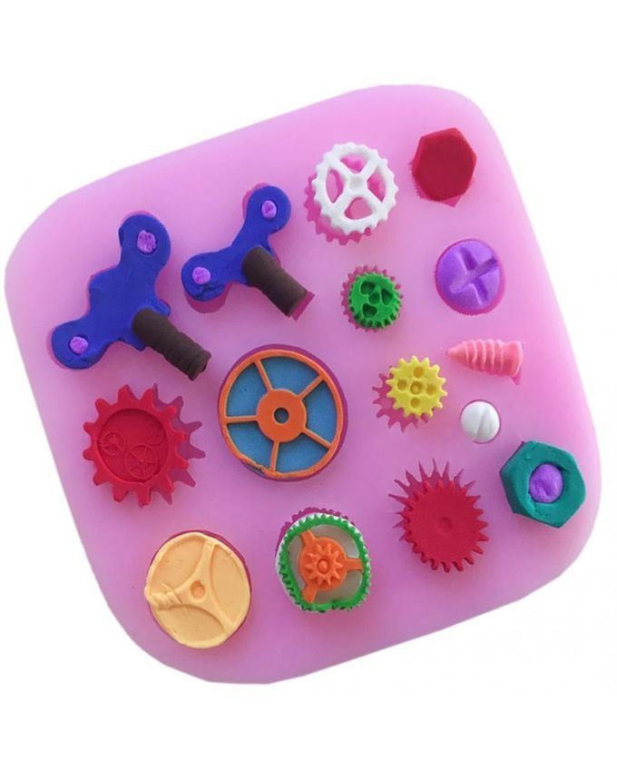 Magideal Steam Punk 15 Tools Silicone Fondant Mould Cake ...